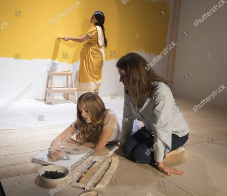 Salma Hoque as Lakshmi, Hannah Rae as Daughter,  Justine Mitchell as Clem