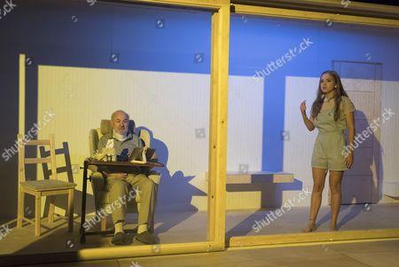 Philip Goldacre as David, Hannah Rae as Daughter