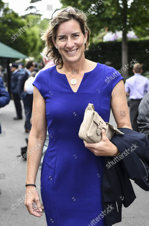 Dame Katherine Grainger arrives