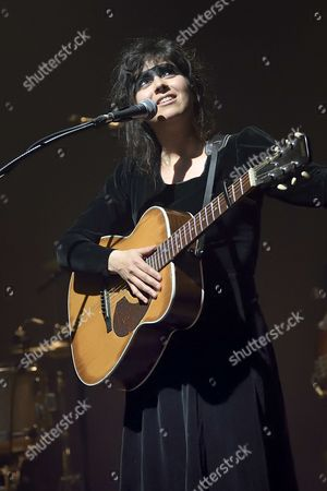 Editorial picture of Laura Cahen in concert, Paris, France - 16 May 2017