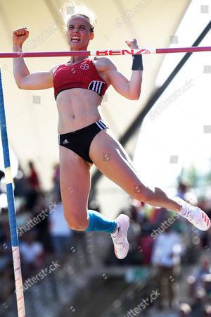 Editorial image of Athletics German Championships, Erfurt, Germany - 09 Jul 2017