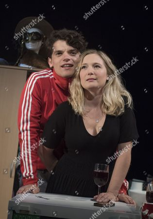 Editorial image of 'Touch' Play by Vick Jones performed at the Soho Theatre, London, UK, 11 Jul 2017