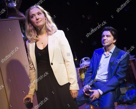 Stock Photo of Amy Morgan as Dee, James Clyde as Miles