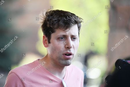 Stock Photo of Sam Altman, President of Y Combinator and Co-Chairman of OpenAI