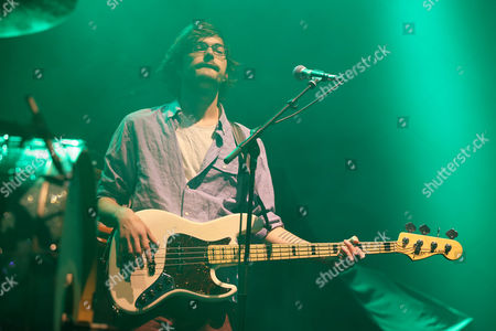 Editorial image of The Front Bottoms in concert at the Hydro, Glasgow, Scotland, UK - 11 Jul 2017