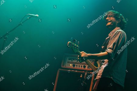 Editorial photo of The Front Bottoms in concert at the Hydro, Glasgow, Scotland, UK - 11 Jul 2017