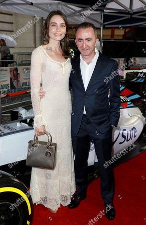 Paddy Lowe and Anna Danshina
