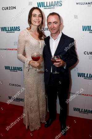 Editorial image of 'Williams' film premiere, London, UK - 11 Jul 2017