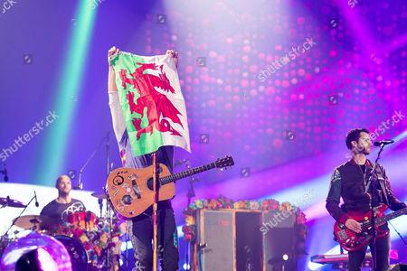 Coldplay - Chris Martin and Guy Berryman