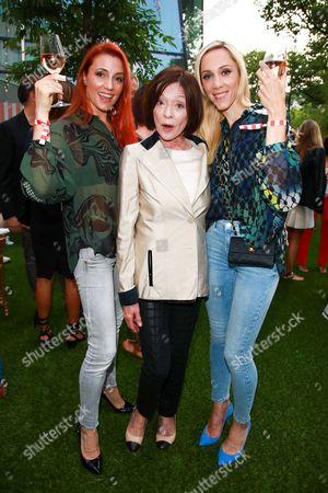 Kerstin Merlin, Susanne Juhnke and Melanie Wolf
