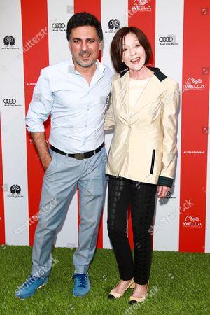 Shan Rahimkhan and Susanne Juhnke