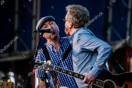 Flogging Molly - Dave King and Nathen Maxwell