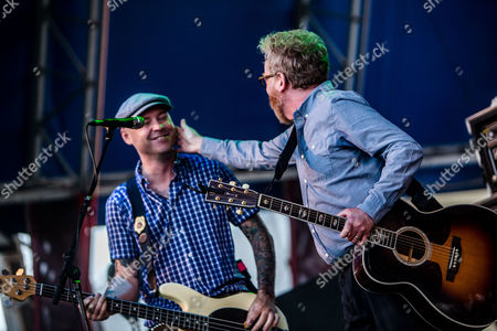 Stock Picture of Flogging Molly - Dave King and Nathen Maxwell