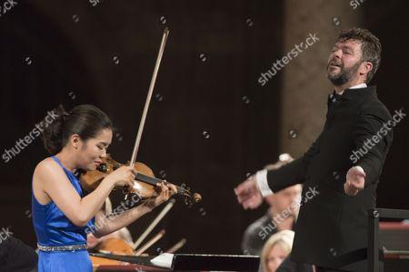 Esther Yoo and Pablo Heras-Casado