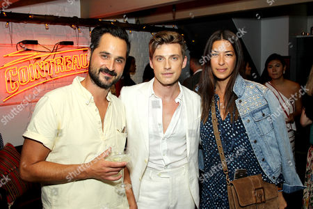 Editorial photo of Jeremiah Brent and Cointreau Celebrate the Art of La Soiree, New York, USA - 11 Jul 2017