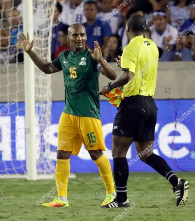 Editorial picture of Gold Cup Honduras French Guiana Soccer, Houston, USA - 11 Jul 2017