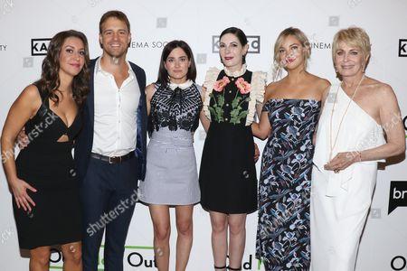 Stock Photo of Rachel Feinstein, Sean Kleier, KK Glick, Jill Kargman, Abby Elliott and Joanna Cassidy