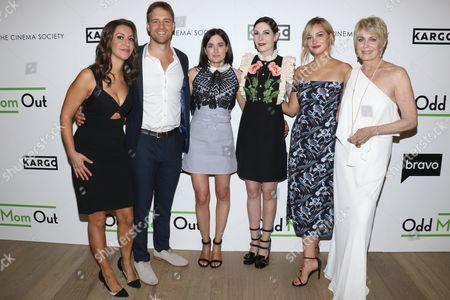 Rachel Feinstein, Sean Kleier, KK Glick, Jill Kargman, Abby Elliott and Joanna Cassidy
