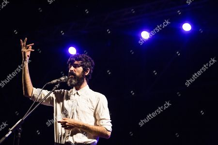 Editorial photo of Devendra Banhart in concert at Teatro di Ostia Antica, Rome, Italy - 11 Jul 2017