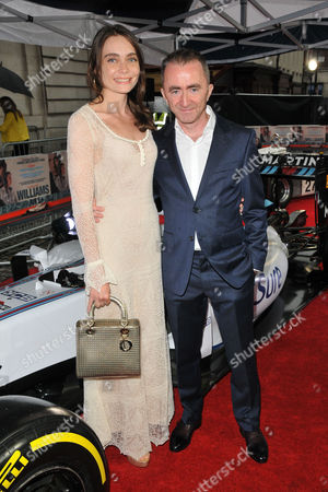 Anna Danshina and Paddy Lowe