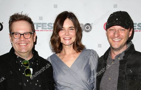 Stock Picture of Cory Krueckeberg, Betsy Brandt, Tom Gustafson