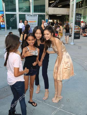 Madison Hu and Olivia Rodrigo