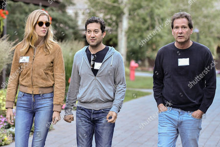 Talia Oringer, Jon Oringer, Founder and CEO of Shutterstock and Daniel Schulman, President and CEO of PayPal