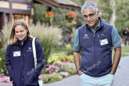 Allison Bhusri and Aneel Bhusri, CEO of Workday