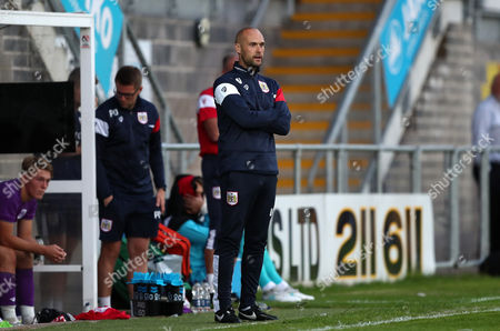 Bristol City U23 coach Luke Williams