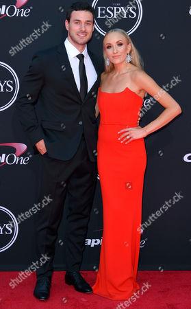 Matthew Lombardi and Nastia Liukin