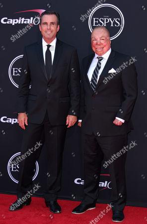 Bob Woodruff and Sgt Israel Del Toro Jr