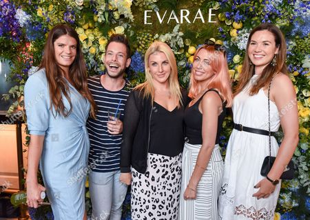 Editorial picture of The Evarae Summer Party at Embassy Gardens, London, UK - 12 Jul 2017