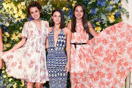 Rosanna Falconer, Anisa Sojka and Gabi Fones