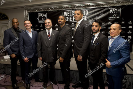 Michael Page, William Hutchinson, Richard Schaefer, David Haye, Joe Joyce, Qais Ashfaq, Ismael Salas