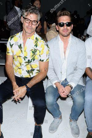 Eric Rutherford and Hugh Sheridan
