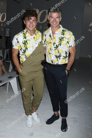 Stock Picture of Justin Livingston and Eric Rutherford