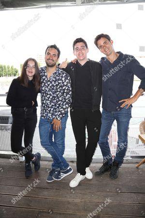 Erja Malatier, Alex Goude, Luca Gelberg, Joan Faggianelli of Gulli