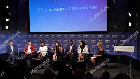 J.R. Ramirez, Rotimi Akinosho, Naturi Naughton, Lela Loren, 50 Cent, Courtney A Kemp (Creator) and Cori Murray