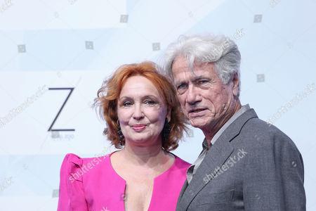 Jurgen Prochnow mit Ehefrau Verena Prochnow