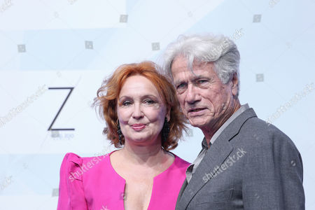 Stock Photo of Jurgen Prochnow mit Ehefrau Verena Prochnow