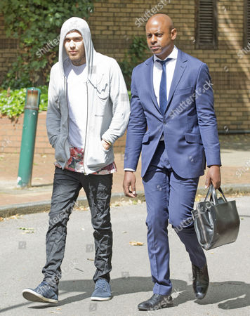 Marco Pierre White Jr Arriving At Hammersmith Magistrates Court.