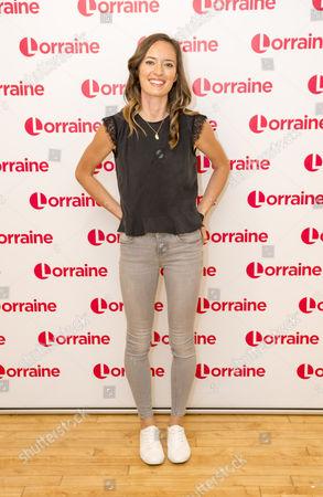 Editorial picture of 'Lorraine' TV show, London, UK - 13 Jul 2017