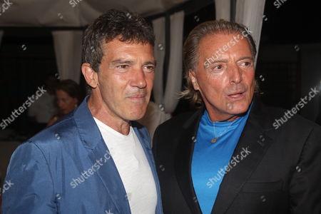 Antonio Banderas and Armand Assante