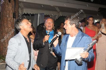 Guest, Armand Assante and Antonio Banderas