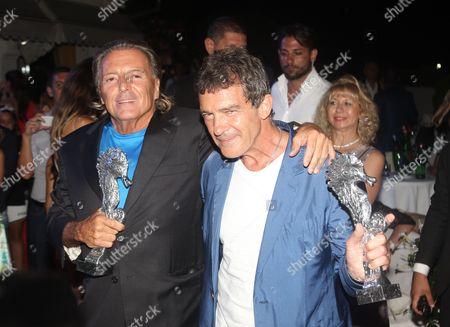 Armand Assante and Antonio Banderas