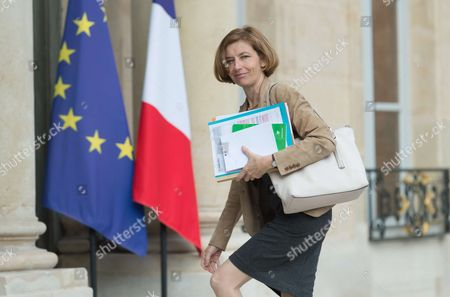 Stock Image of French Defense Minister Florence Pagny.