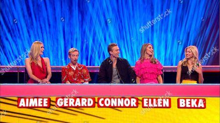 (Ep 5) Ampika Pickston, Gerard, Connor, Ellen and Beka.