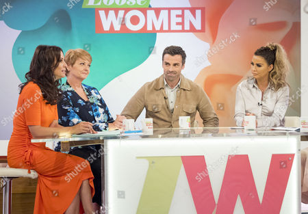 Andrea McLean, Anne Diamond, Jonathan Wrather, Katie Price