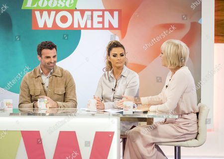 Jonathan Wrather, Katie Price and Jane Moore