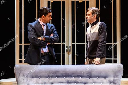 Adam Garcia (Skinner), Paul Higgins (Barry).
